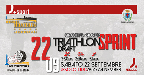 Ligerman Triathlon 2018 a Jesolo