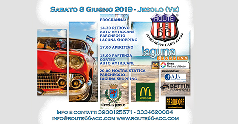 American beach party a Jesolo, sabato 8 giugno 2019