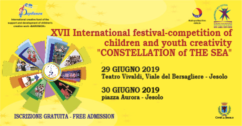 "XVII festival internazionale ""Costellation of the Sea"""