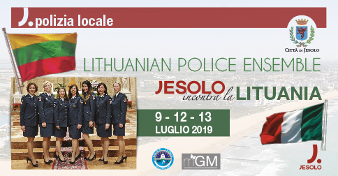Lithuanian Police Ensemble in concerto a Jesolo