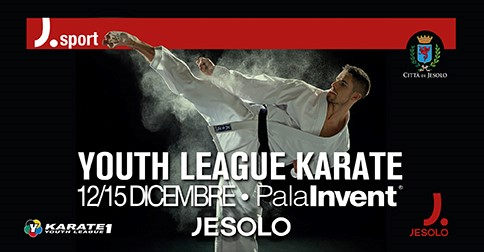 Wkf Karate 1 Youth League PalaInvent Jesolo  13-15 dicembre 2019
