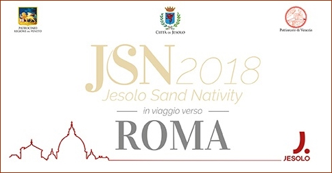 Jesolo Sand Nativity in Piazza San Pietro a Roma