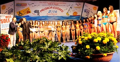 Miss Sole a Jesolo