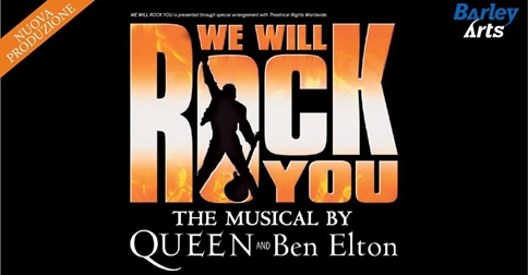 We will rock you - The Musical 10 gennaio 2019 Jesolo, palazzo del Turismo