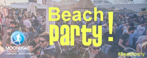 Moonlight beach party