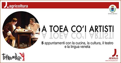 A Jesolo cinque appuntamenti con la cucina,la cultura, il teatro, la lingua veneta