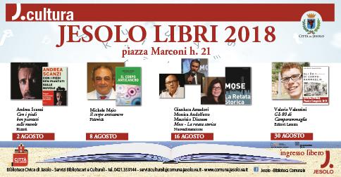 Jesolo Libri 2018 piazza Marconi h 21