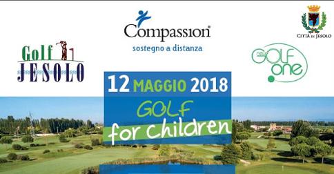 Golf for children, Golf Club Jesolo, 12 maggio 2018