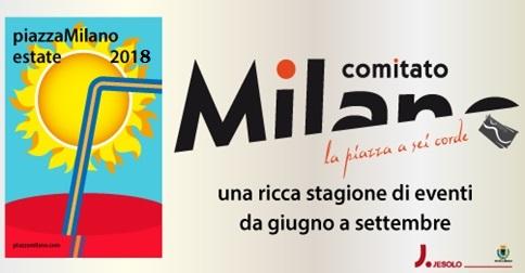 Evento in piazza Milano a Jesolo