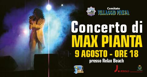 Concerto di Max Pianta