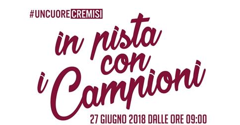 In pista con i Campioni Jesolo 27 giugno 2018 Stadio Picchi