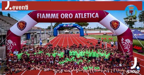 In pista con i Campioni allo stadio Picchi di Jesolo 26 giugno 2019