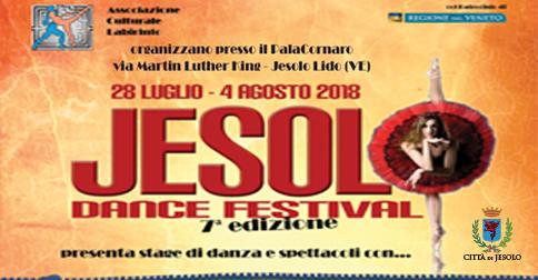 Jesolo Dance Festival 2018 in Piazza Aurora