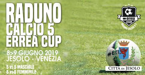 Raduno calcio a 5 Erreà Cup Villaggio al Mare Marzotto Jesolo 8 e 9 giugno