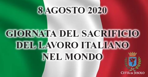 Jesolo celebra la giornata del sacrificio del lavoro italiano nel mondo