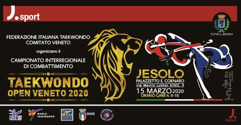 Taekwondo Open Veneto 2020 Jesolo, 15 marzo PalaCornaro