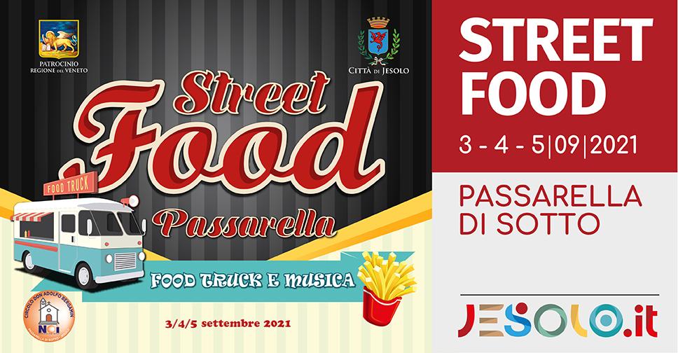 Street Food a Passarella - Jesolo: food truck e musica dal 3 al 5 settembre 2021