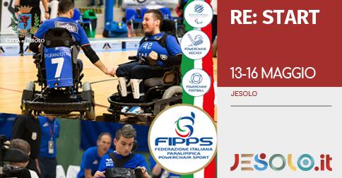 Powerchair sport- Villaggio Marzotto Jesolo 13-16 maggio