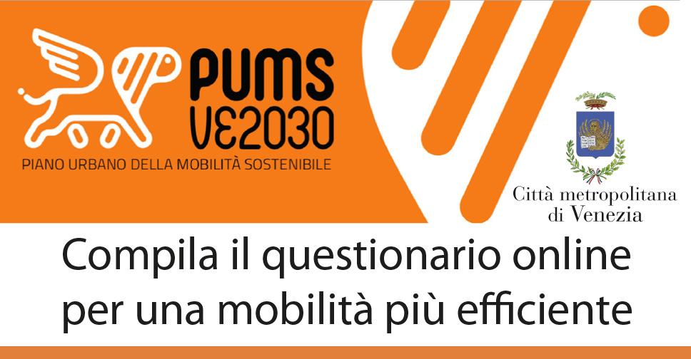 Piano urbano della mobilità sostenibile della Città Metropolitana di Venezia - questionario