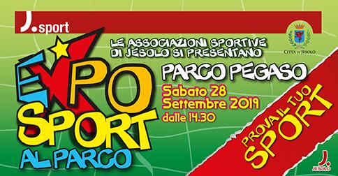 Expo sport Parco Pegaso Jesolo 28 settembre 2019