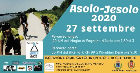 Cicloturistica Asolo - Jesolo 2020