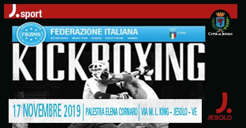 Kickboxing Campionato Regionale Veneto a Jesolo il 17 novembre 2019