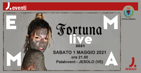 Emma Marrone in concerto a Jesolo il 1° maggio 2021