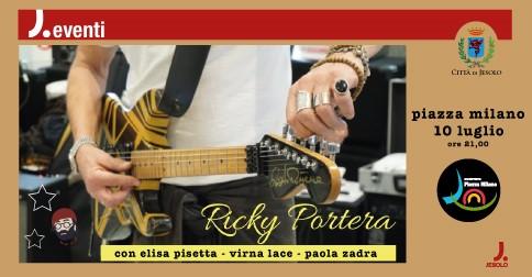 Ricky Portera in concerto