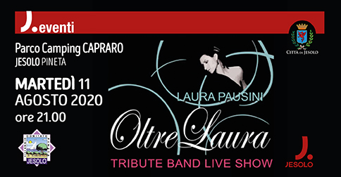 Oltre Laura Tribute Band live show
