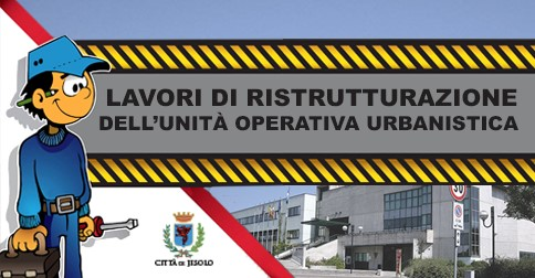 Trasferimento unità operativa Urbanistica
