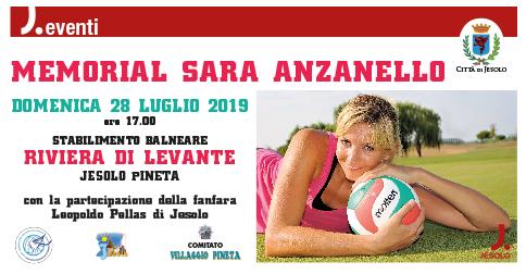 Memorial Sara Anzanello domenica 28 luglio 2019 a Jesolo