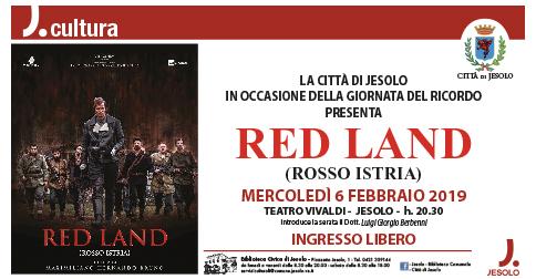 Giornata del ricordo: mercoledì 6 febbraio presso il teatro Vivaldi di Jesolo