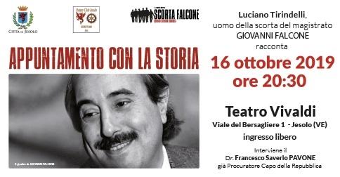 Appuntamento con la storia: Luciano Tirindelli racconta - 16 ottobre 2019 Biblioteca Civica di Jesolo