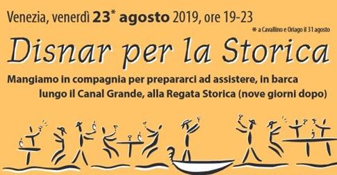 Disnar per la storica 2019 venerdì 23 agosto sede Remiera Jesolo via Piave Vecchio