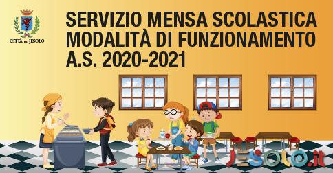 servizio mensa scolastica a.s. 2020-2021