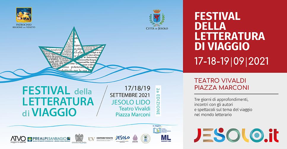 Festival della letteratura di viaggio Jesolo, 17-19 settembre 2021, in presenza e in streaming