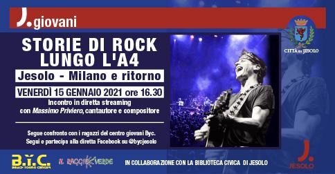 Storie di Rock lungo l'A4, Jesolo - Milano e ritorno