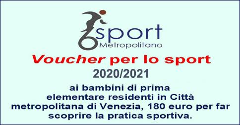 Progetto 6 sport - voucher per la praticva sportiva dei bambini iscritti alla prima elementare