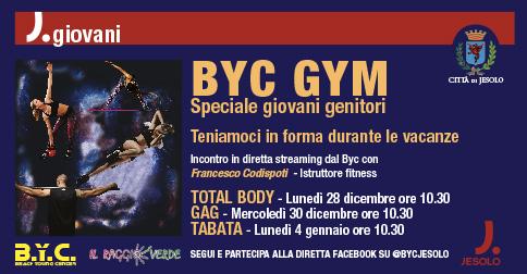 BYC gym. Speciale giovani genitori