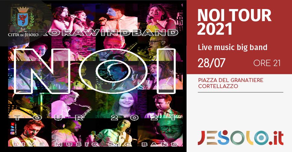 Aurora Wind Band in concerto a Cortellazzo - Jesolo - il 28 luglio 2021