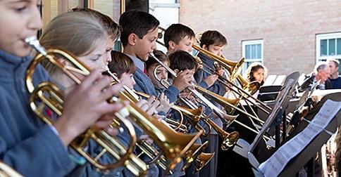 Concerto scuola inglese Hall Grove School
