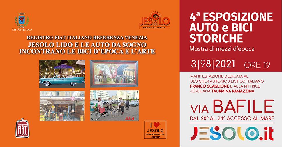 4^ Esposizione di auto e bici storiche