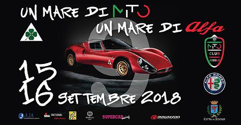 Raduno Mito Alfa 15 e 16 settembre 2018 a Jesolo