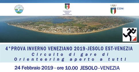 27° Inverno Veneziano - Gara di orienteering a Jesolo