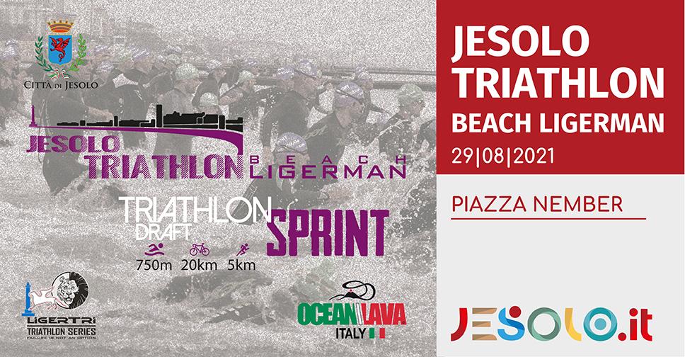 Jesolo Triathlon Beach Ligerman