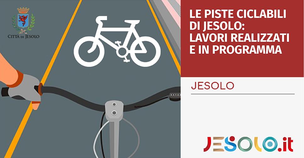 Le piste ciclabili di Jesolo