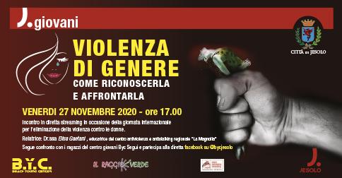 Violenza di genere, come riconoscerla e affrontarla!