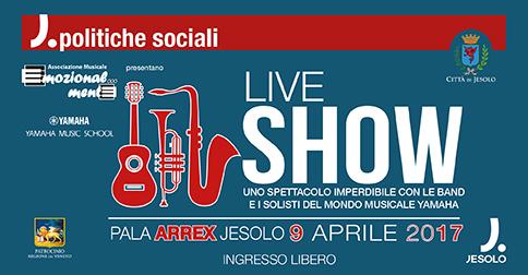 Il Pala Arrex di Jesolo ospita l'evento Yamaha Live Show il 9 aprile 2017 alle 17.30