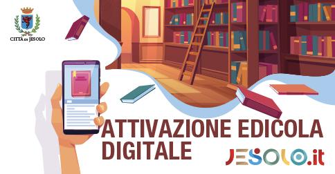 La biblioteca di Jesolo per l'accesso a MLOL edicola digitale