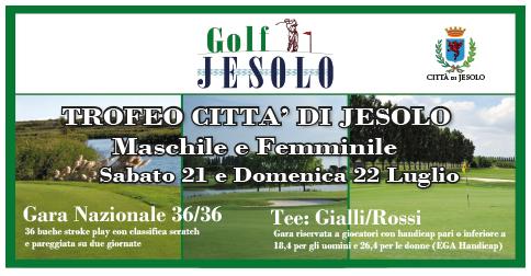 Trofeo città di Jesolo al Golf Club di Jesolo